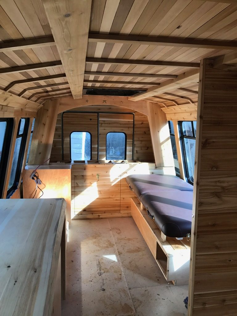 Alamo Finishing - West Coast Tiny Home