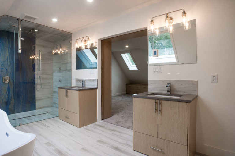 Alamo Finishing - North Saanich Master Suite & Addition
